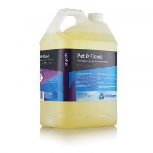 Flood & urine decontaminant and odour neutraliser