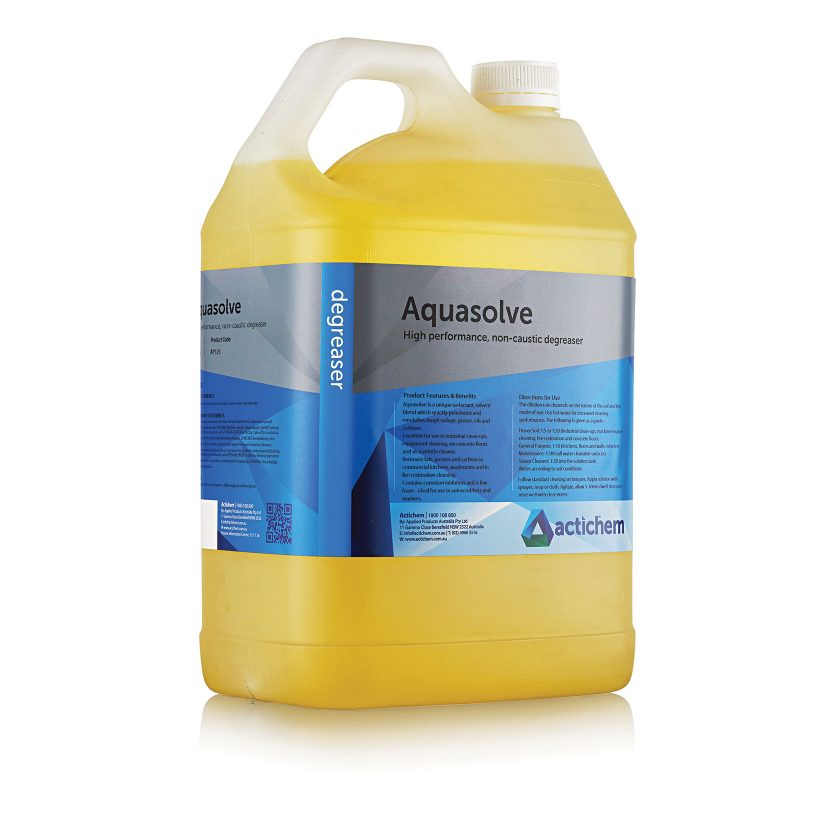 Caustic free degreaser