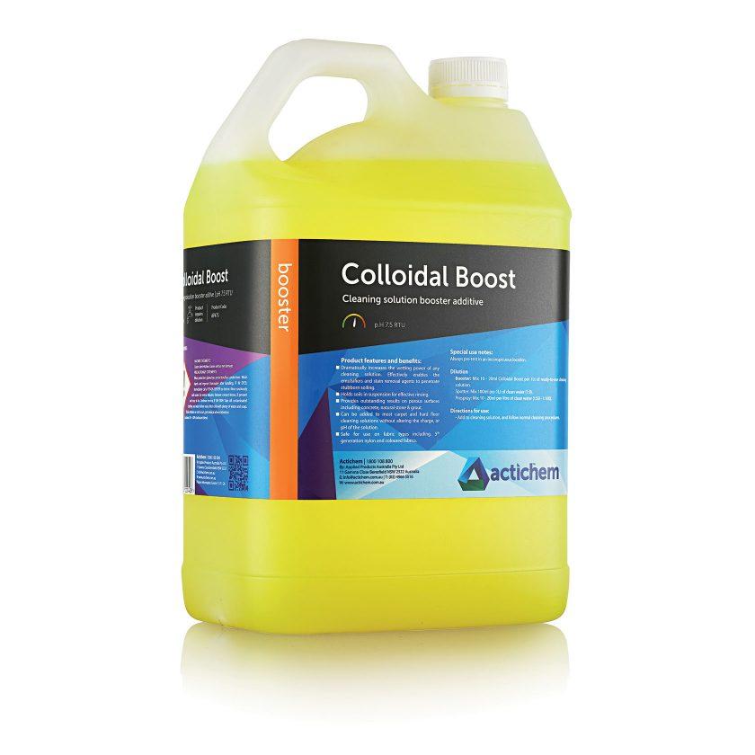 Colloidal Boost