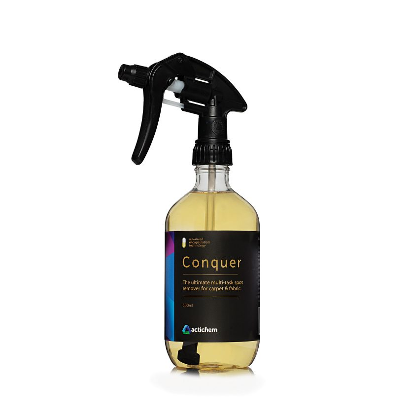Conquer. The best carpet stain remover