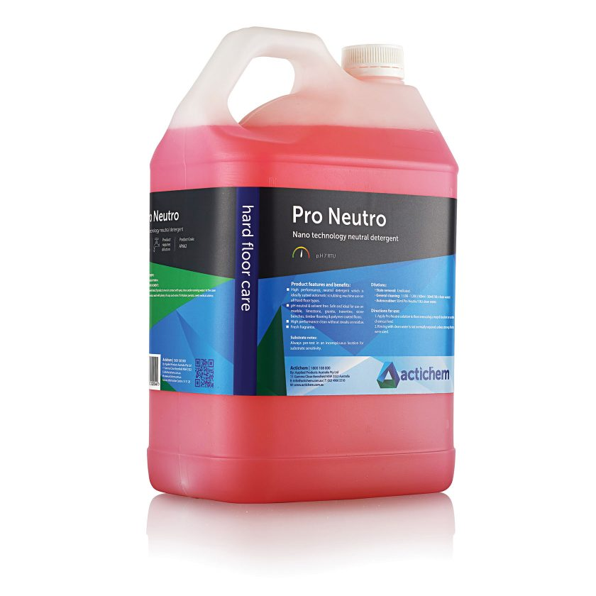 Nano-technology neutral cleaner