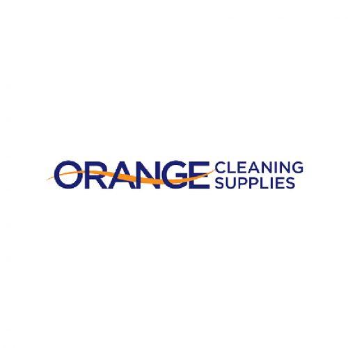 Orange Cleaning Supplies