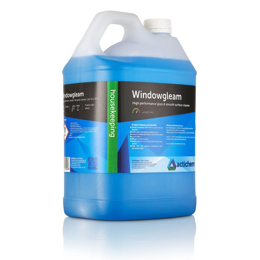 Windowgleam window cleaning spray in 5lt jerrycan
