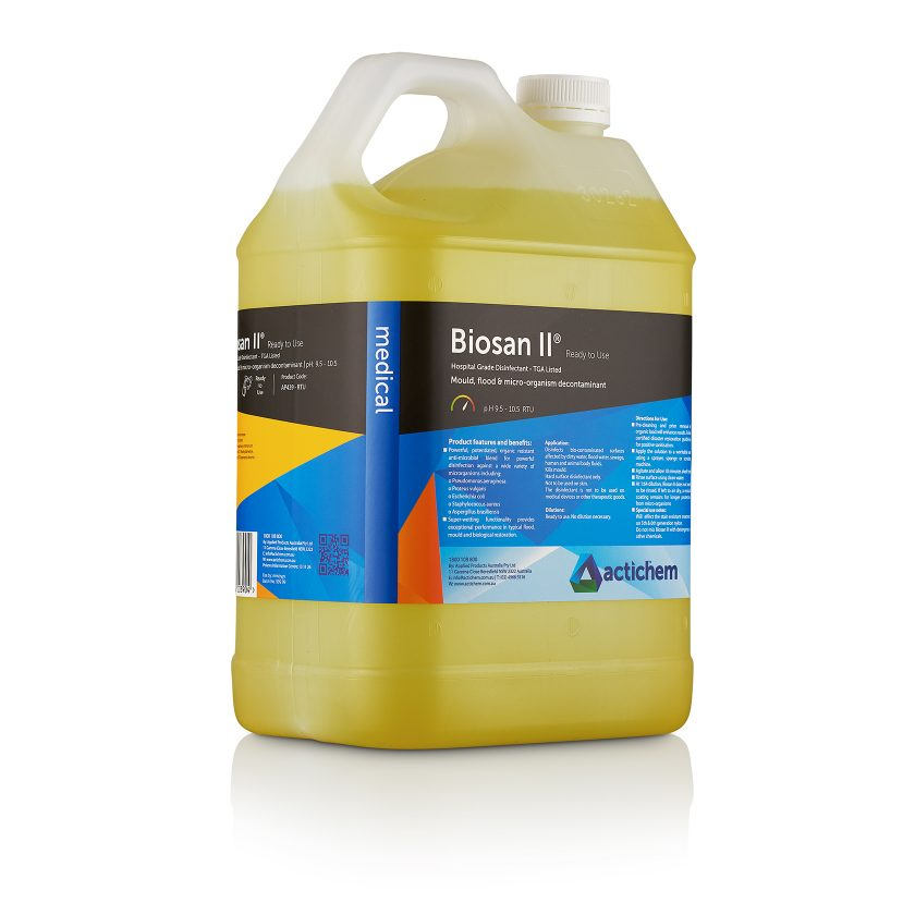 biosan ii ready to use hospital grade disinfectant in 5lt jerrycan