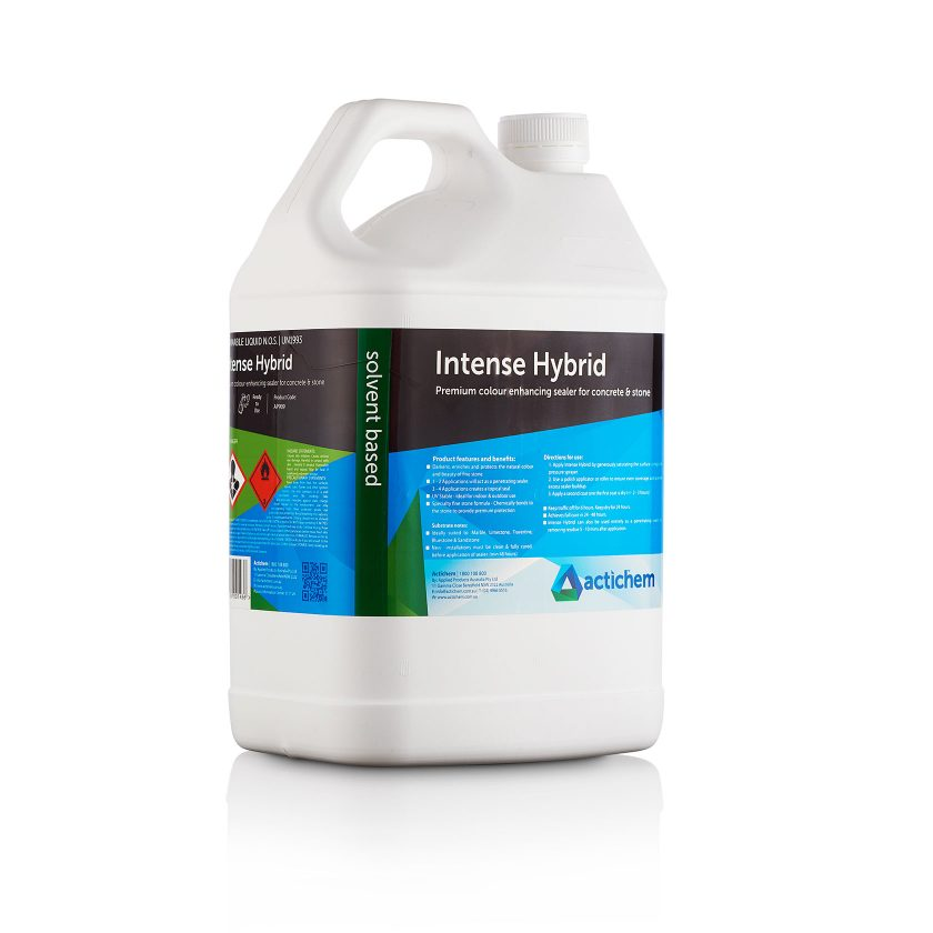 Hybrid Sealer for concrete and stone